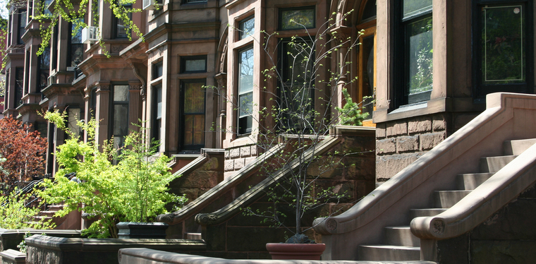 Langston hughes brownstones new york curvyecocentric for New york city brownstone for sale